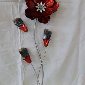 Wandbild Blume