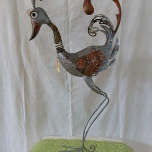 Vogel aus Metall